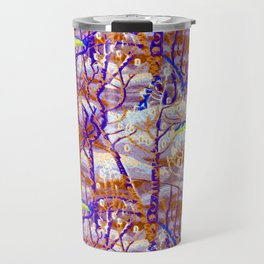 Charles Burchfield The Birches Travel Mug