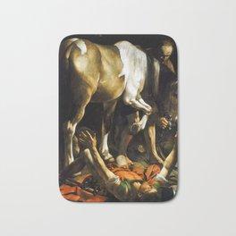 Caravaggio Conversion on the Way to Damascus Bath Mat