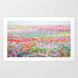 Carillon Blooms Art Print