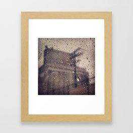 Sad MTL Framed Art Print
