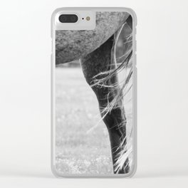Horse #1 Clear iPhone Case