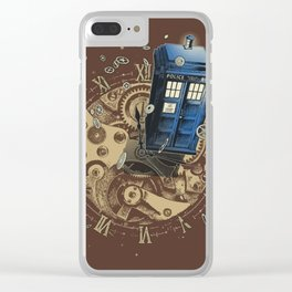 The Doctor?! Clear iPhone Case