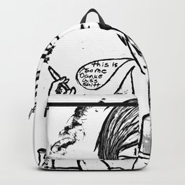 your a pothead harry Backpack