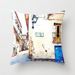 Vatolla: glimpse Throw Pillow