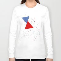 jazzberry Long Sleeve T-shirts featuring knot by .eg.