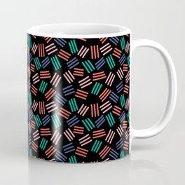 80s 90s Minimal Lines Pattern Coffee Mug
