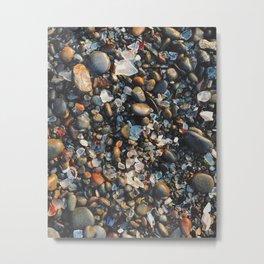 Glass Beach Metal Print