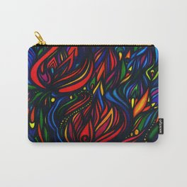 Flowers in Flame Carry-All Pouch