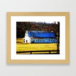 November Detour Framed Art Print