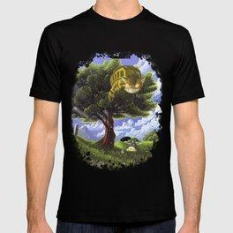Totoro and Catbus T-shirt