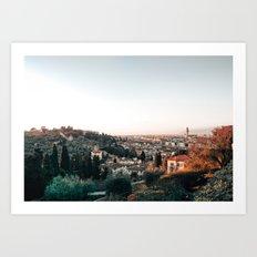 Florence Skyline Art Print