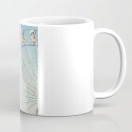 Soft blue ferris wheel  Coffee Mug