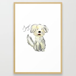 Personalized Art - Jager Framed Art Print