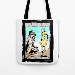 Q-riosity 2 Ladies Tote Bag