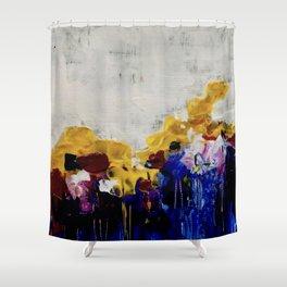 Always Flowers Shower Curtain