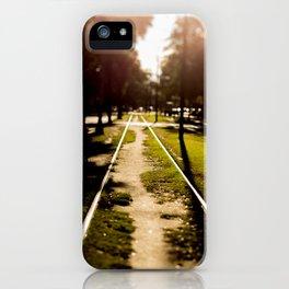Neutral Ground iPhone Case