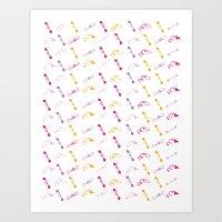 Tipsy Art Print