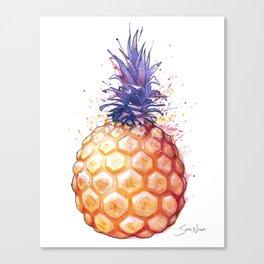 Fat Pineapple 3 Canvas Print