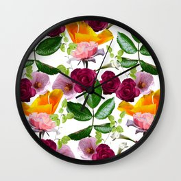 Kiddy Florals Wall Clock