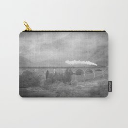 """Glenfinnan b&w"" Carry-All Pouch"