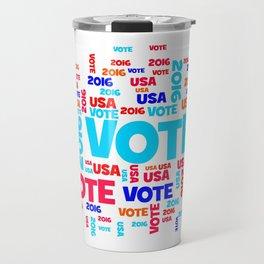 Vote USA 2016 Travel Mug