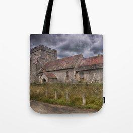 Hamsey Old Church Tote Bag