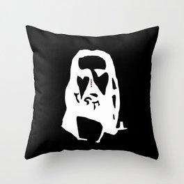 Jesus Illusion Throw Pillow