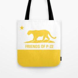 P-22 Yellow Tote Bag
