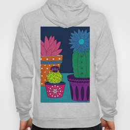 Fun With Coloring Knitted Cactus Hoody