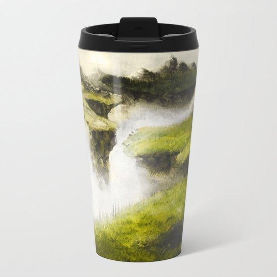 Abandoned Lands Metal Travel Mug