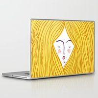blondie Laptop & iPad Skins featuring Blondie by Katie L Allen