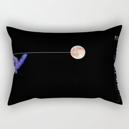 Moon Yo-yo Rectangular Pillow