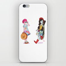 Bubblegum and Marceline iPhone & iPod Skin