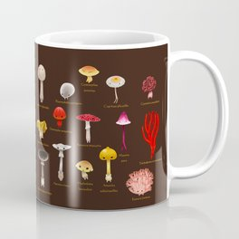 Inedible mushrooms Coffee Mug