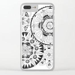 Mandala Series 02 Clear iPhone Case