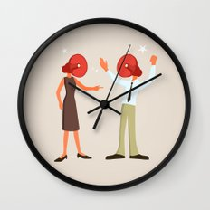 A Very Loud Argument Wall Clock