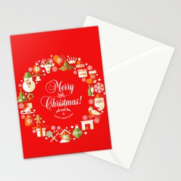 The Circle of Christmas Stuffs Stationery Cards