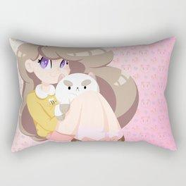 2 cute 2 poot Rectangular Pillow