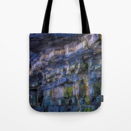 Rainbow in the Rocks Tote Bag