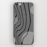 mid century iPhone & iPod Skins featuring Mid-Century Mod 2 by Patti Toth McCormick