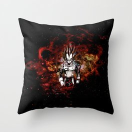 vegeta Throw Pillow