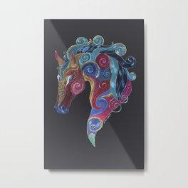 Horse Totem Metal Print