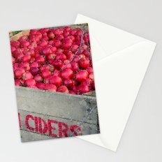 Autumn Apple Harvest Stationery Cards