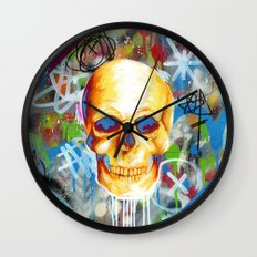 Solarized Wall Clock