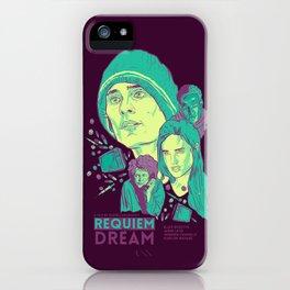 Requiem For A Dream iPhone Case