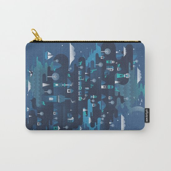 Land of the Blue Mountains Carry-All Pouch