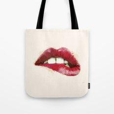 Luscious Lips Tote Bag