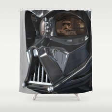 Darth Vader Playboy Flagrant Shower Curtain