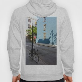 Shadows on a Greenwich Village street, NYC Hoody