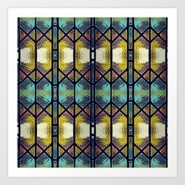Windowpaned #2 Art Print